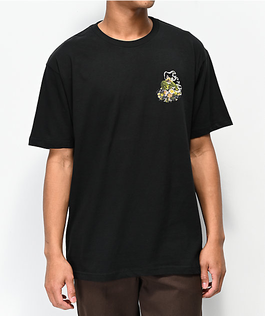 RIPNDIP Flower Burst Black T-Shirt