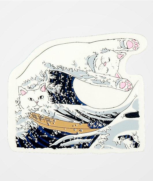 RIPNDIP Great Wave Sticker