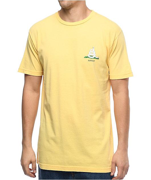 RIPNDIP I Shed On You Lemon T-Shirt