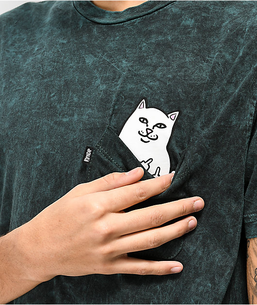 RIPNDIP Lord Nermal Aqua Blue Pocket T-Shirt