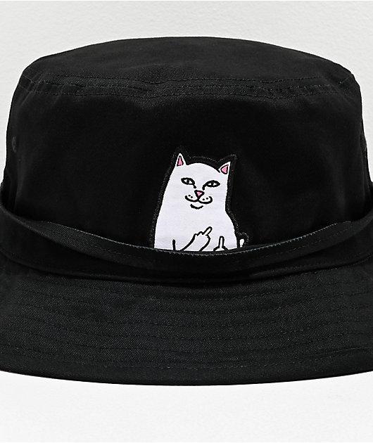 RIPNDIP Lord Nermal Black Bucket Hat