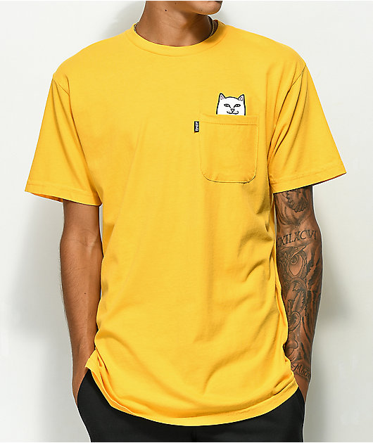 RIPNDIP Lord Nermal Gold T-Shirt