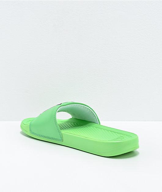 RIPNDIP Lord Nermal Mint Slide Sandals