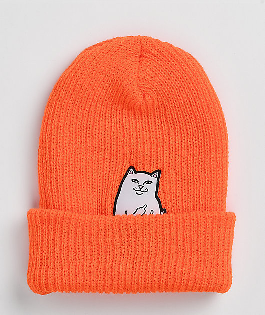 RIPNDIP Lord Nermal Orange Beanie
