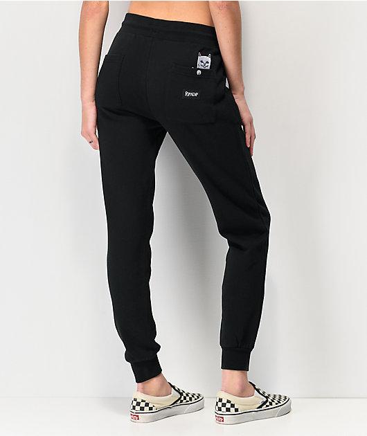 RIPNDIP Lord Nermal jogger pantalones deportivos negros