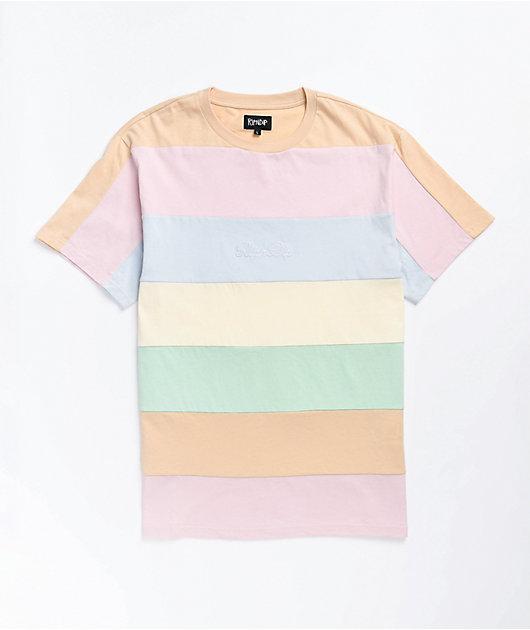 RIPNDIP Mid City Color Block Knit T-Shirt