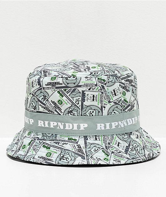 RIPNDIP Money Bag sombrero de cubo reversible