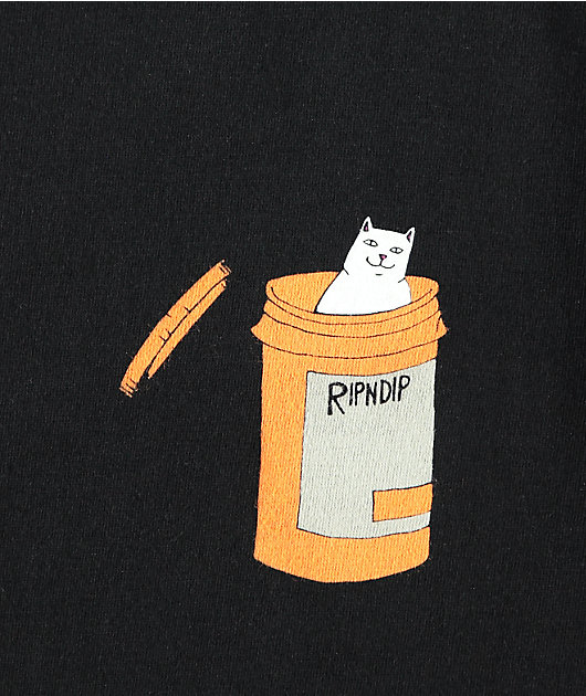 RIPNDIP Nermal Pills Black T-Shirt