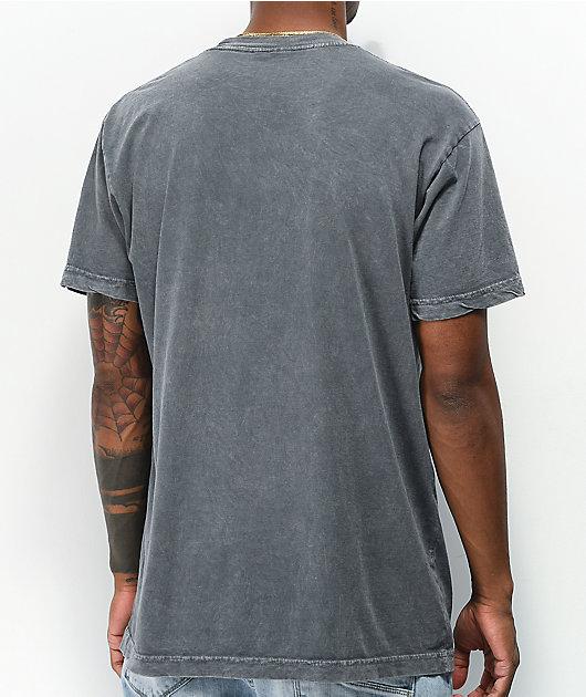 RIPNDIP Noodles Grey Mineral Wash T-Shirt