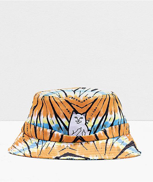 RIPNDIP Open Minded Tie Dye Bucket Hat
