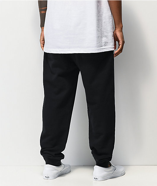 RIPNDIP Peeking Nerm Black Jogger Sweatpants