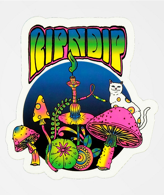 RIPNDIP Psychedelic Sticker