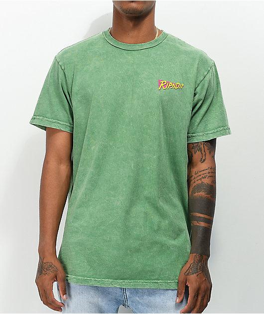 RIPNDIP Purple Haze Green T-Shirt
