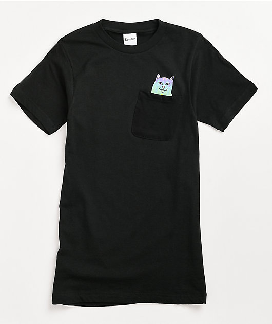 RIPNDIP Rainbow Nerm Black T-Shirt