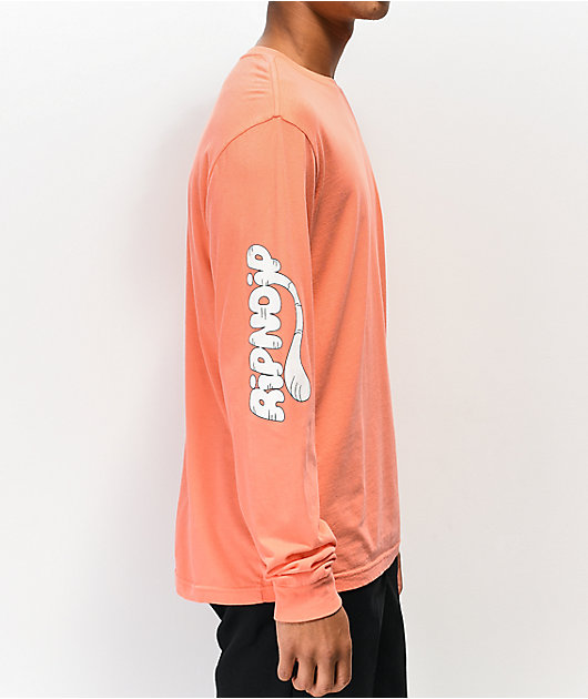 RIPNDIP Ripn Tail Coral Long Sleeve T-Shirt
