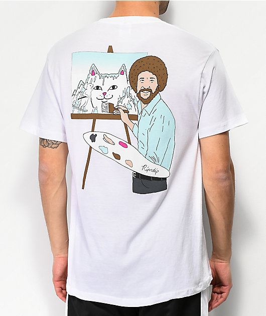 RIPNDIP Ross White T-Shirt