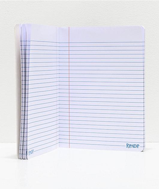 RIPNDIP Stay In Skewl Notebook
