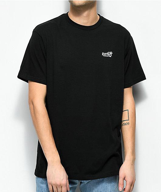 RIPNDIP The Great Wave Of Nerm Black T-Shirt