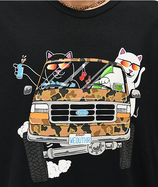 RIPNDIP The Whole Gang Black T-Shirt