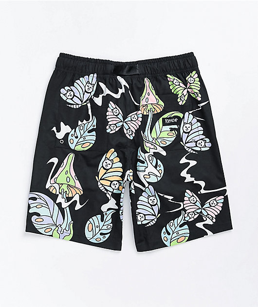 RIPNDIP Think Factory Black Board Shorts