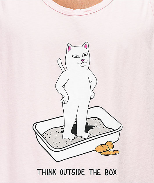 RIPNDIP Think Outside Pink Tank Top