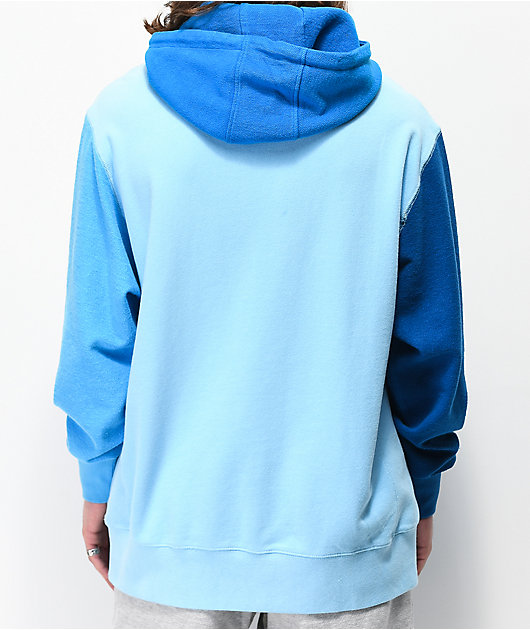 RIPNDIP Tonal Loopback Blue Hoodie