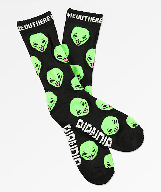 RIPNDIP We Out Here calcetines negros