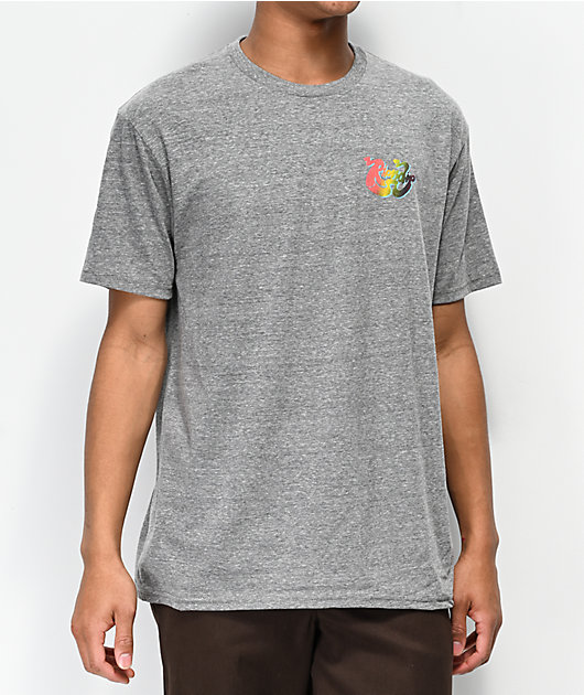 RIPNDIP Yee Haw Heather Grey T-Shirt