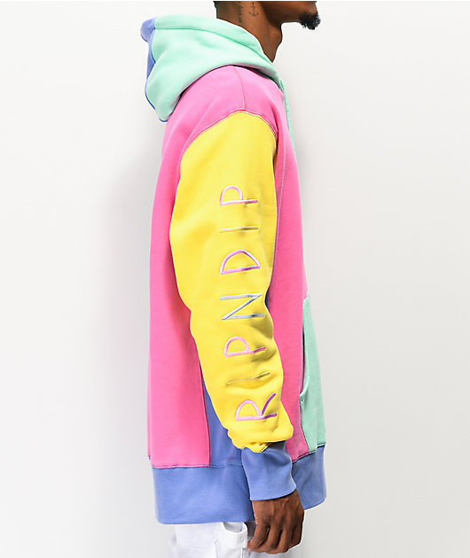 RIPNDIP x Teddy Fresh 2.0 Colorblock Hoodie