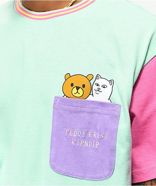 RIPNDIP x Teddy Fresh 2.0 Colorblock T-Shirt