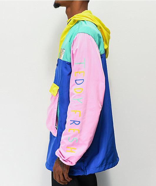 RIPNDIP x Teddy Fresh 2.0 Colorblock chaqueta anorak