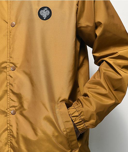 RVCA Berni Brass Coaches Jacket