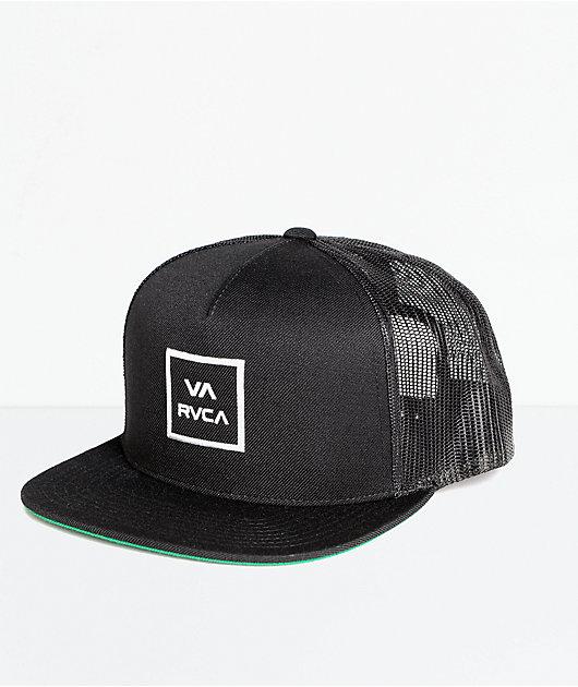 RVCA VA All The Way gorra trucker en negro