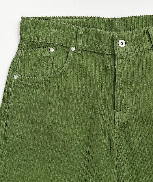 Ragged Jeans Jumbo Olive Corduroy Jeans