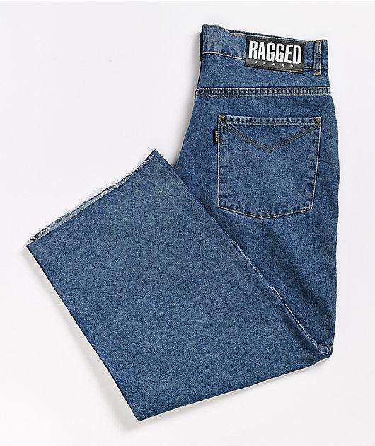 Ragged Jeans Skater Blue Jeans