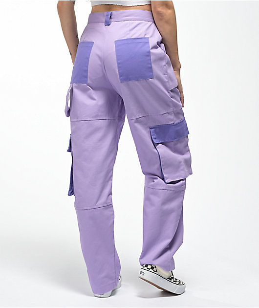Ragged Jeans Turbo Lavender Cargo Pants