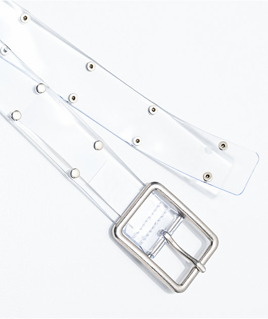 Randa Studded Clear Belt