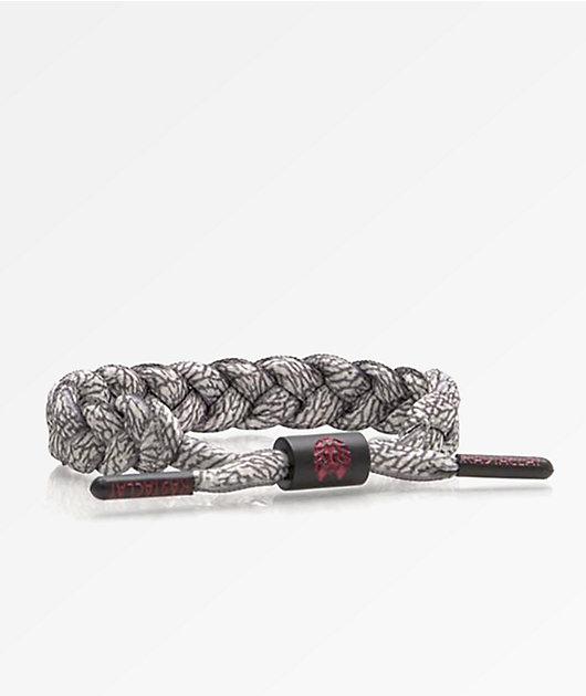 Rastaclat Grey Elephant Bracelet