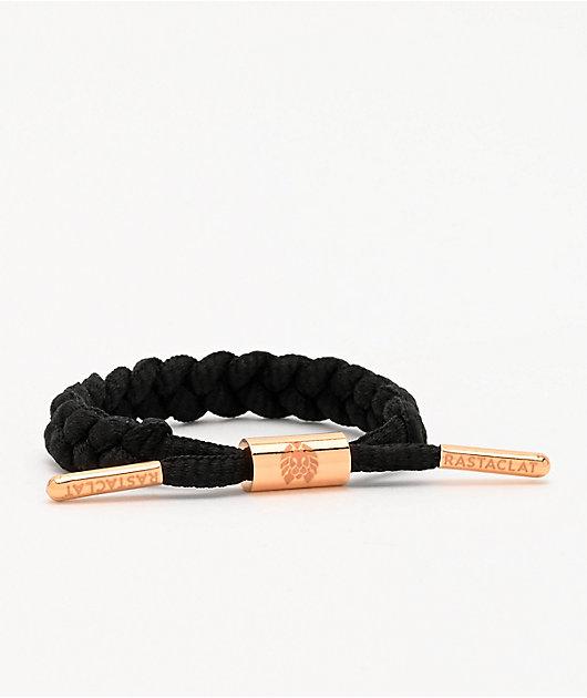 Rastaclat Lauryn Braided Black Bracelet