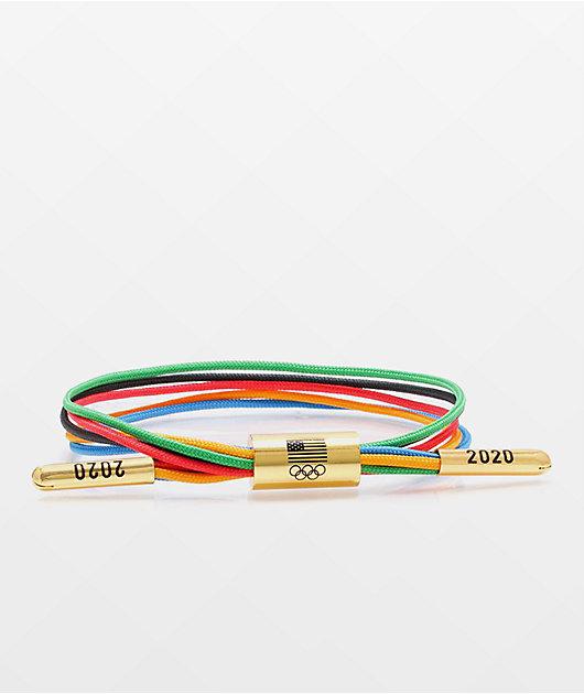 Rastaclat x Olympics Team USA Go For Gold Bracelet