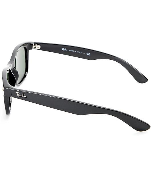 Ray-Ban New Wayfarer Classic Black Sunglasses