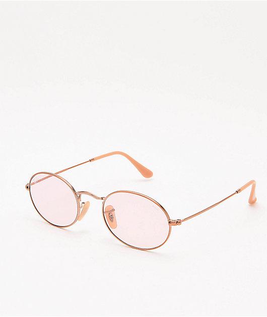 Ray-Ban ORB3547N Evolve gafas de sol en rosa claro