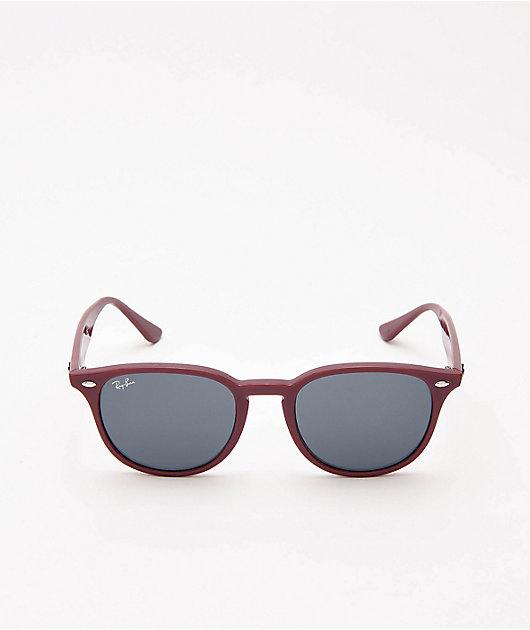 Ray-Ban ORB4259 gafas de sol en burdeos y gris oscuro