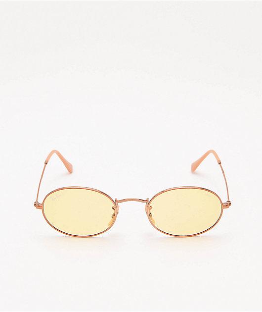 Ray-Ban RB3547N Evolve gafas de sol en amarillo claro