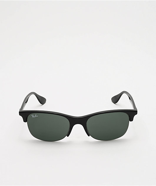 Ray-Ban Youngster Club Black & Green Sunglasses