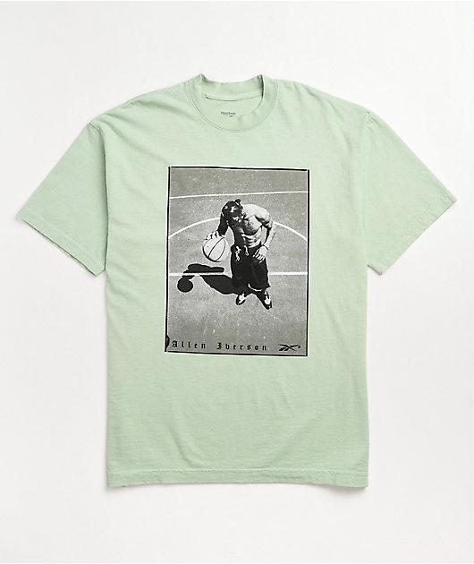 Reebok Allen Iverson Court Life Seafoam Green T-Shirt