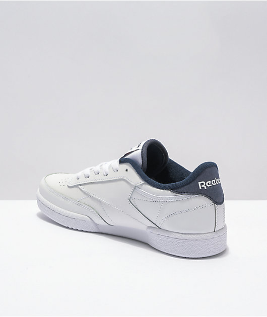 Reebok Club C Foundation White & Vintage Black Shoes