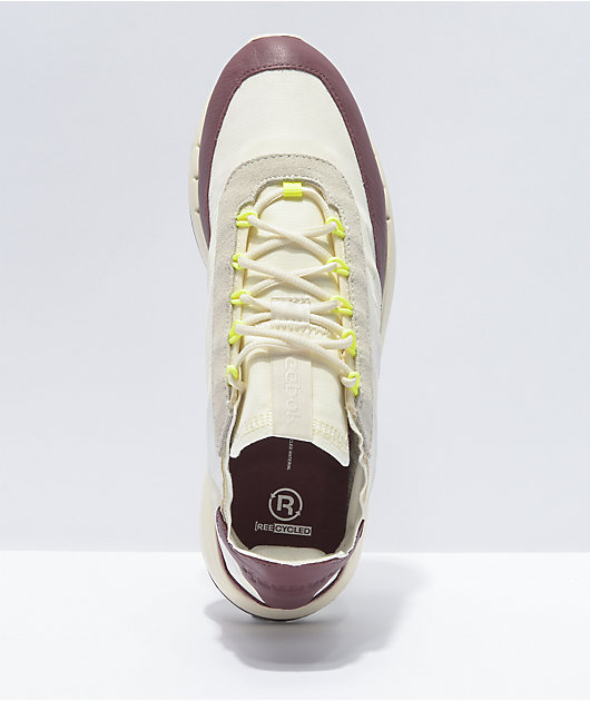 Reebok Legacy 83 White & Maroon Shoes