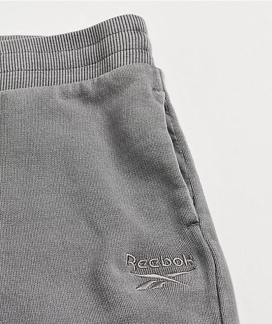 Reebok Washed Purple Jogger Sweatpants