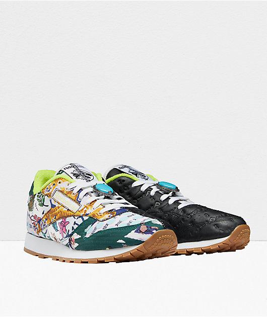 Reebok x Jurassic Park Classic Leather Goldblum Shoes